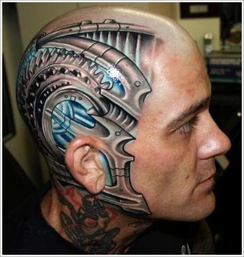 35 Bio-Mechanical Tattoo Designs