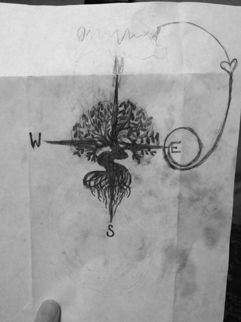 Oak tree meets compass. My future tattoo