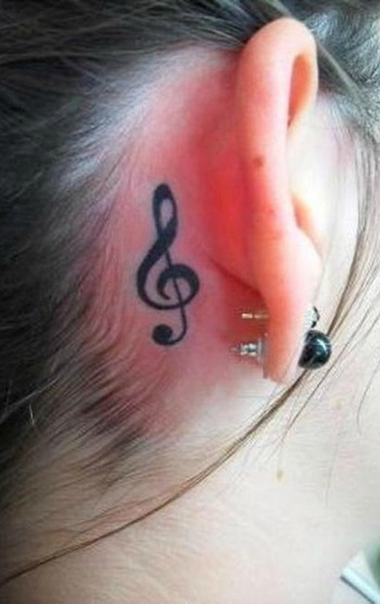 Tattoos: Check out these top 15 music tattoos and lose yourself in music… ... You can also notice a s