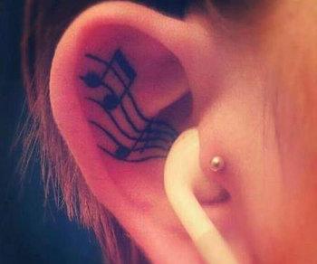 Top 15 Musical Tattoo Designs