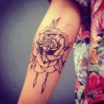 25 Rose Tattoo Designs For Men and Women | Tattooton