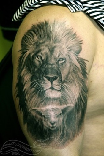 Image detail for -... tattoos realistic tattoos animal tattoos nature tattoos half sleeve