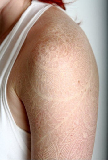 40 Must See White Ink Tattoos
