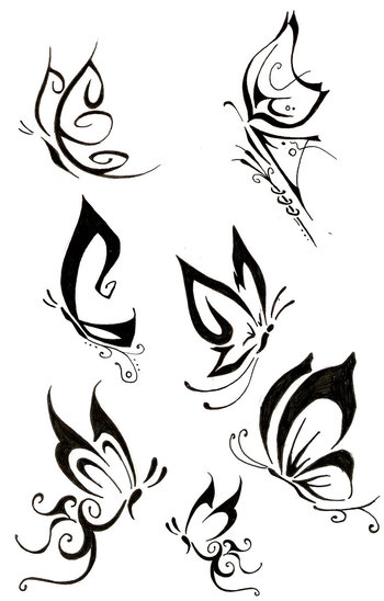 Butterfly Tattoo by THe-FoX-HounD on deviantART