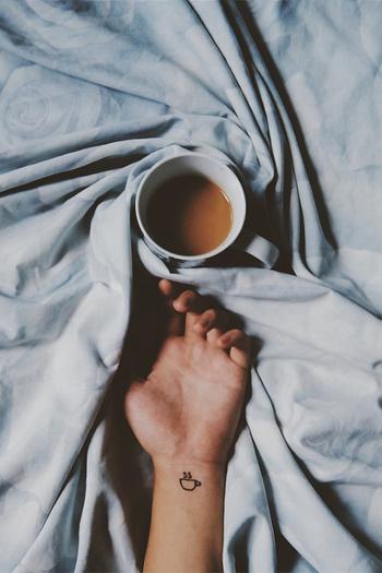 i love you like my morning coffee - bloom