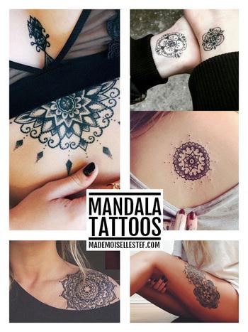 Tattoo Ideas #35 - Mandala I Mademoiselle Stef - Blog Mode, Dessin, Paris