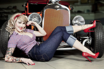 Vintage Road Royalty Cars and Girls 13 «  Road Royalty – Blog