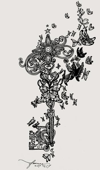 Key to the secret garden by feanne on deviantART