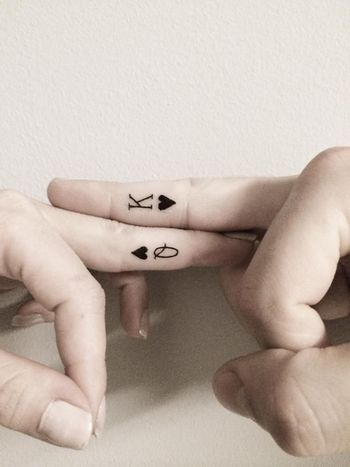 I'm not a fan of couples tattoos,