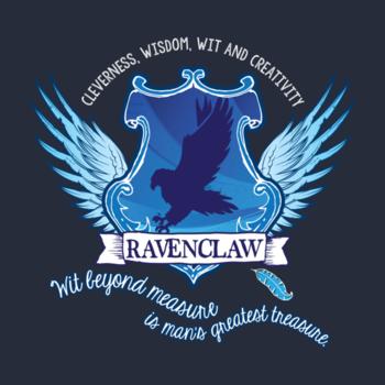 Ravenclaw House Shirt by sedj32