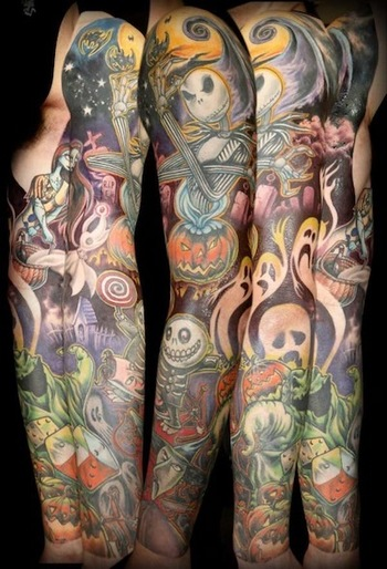 What's This? What's This? 'Nightmare Before Christmas' Tattoos