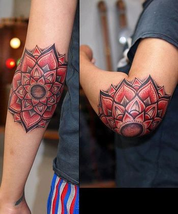 Mandala Tattoo Bu Yasuno Shigehara. #tattoo#tattoos#ink