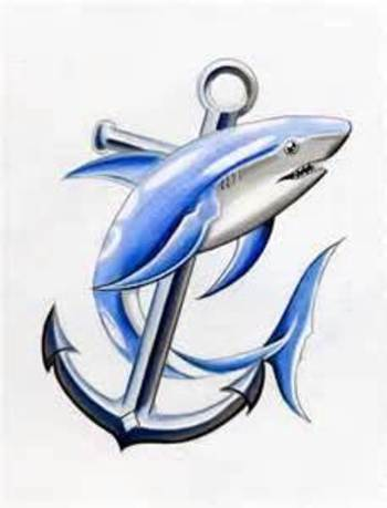 Shark Tattoos Designs Free To Download And Print this is different