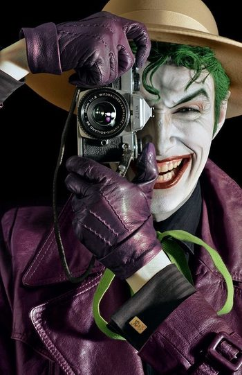 "Cosplayer Brings ""Joker's Trophy Wall"" to Life [Pics]"