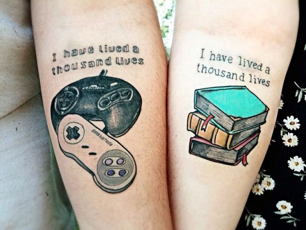 20 awesome matching tattoos only geek couples would get original