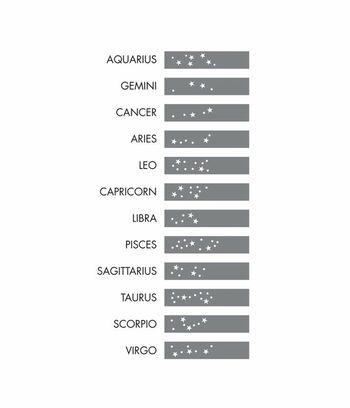 Zodiac star constellation for wrist tattoo