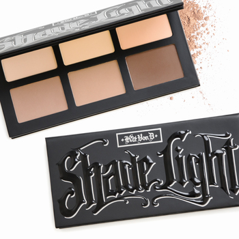 Check out Kat Von D's new contour palette, Shade + Light, inspired by her work as a tattoo artist> #C