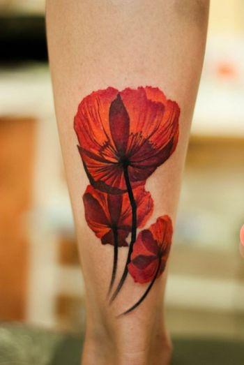 Poppy Flower Tattoo - Best Tattoo Art