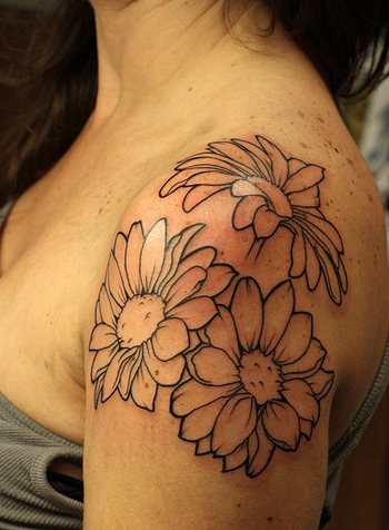 Love this placement. This is going to be my birthday tattoo in a few weeks! I'll be filling the flowers