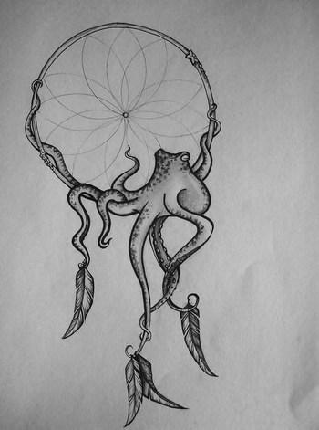 Octopus Dreamcatcher