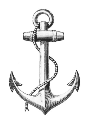 Anchor Graphic Clip Art Symbol of Hope