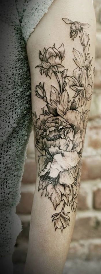 Age Old Youngster: Tattoo Trends - Flowers