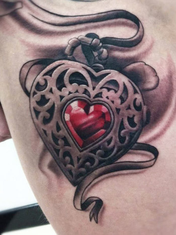 Realism Tattoo by Pete The Thief