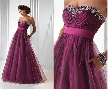 10263 Charming Prom Dress,Organza Prom Dress,A-Line Prom Dress,Beading Prom Dress,Sweetheart Prom Dress from Morebeauty