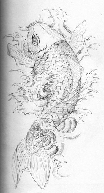 koi sketch by umfdidumf on deviantART