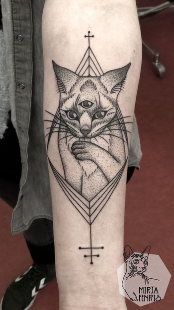 40 Intelligent Geometric Tattoo Designs
