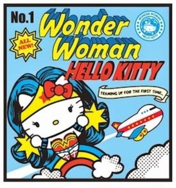 HELLO KITTY LIMITED: HELLO KITTY DC COMICS SUPERHERO CROSSOVER