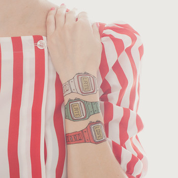 Tattly™  Designy Temporary Tattoos. Made in the USA! — Watch Set