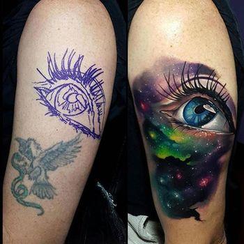 Tattoo Fix Ups: Upgrading Failed Or Faded Tattoos | Tattoodo.com