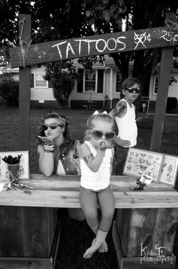 way cooler than a lemonade stand. To cute