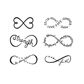 Although these are temporary tattoos I love the design..could always order them, try them out and decide which one I