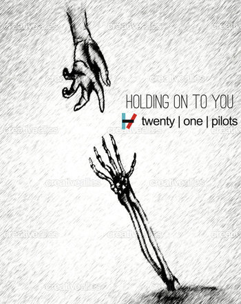 Twenty one pilots- holding on to you...love this song right now <3 trying to learn all the words ;p l