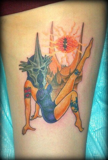 15 Incredible Lord of the Rings Tattoos | Walyou