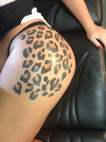 Cheetah tattoo- I'M GETTIN THIS FOR MY BDAY!! Who wants to pay for it?? lol