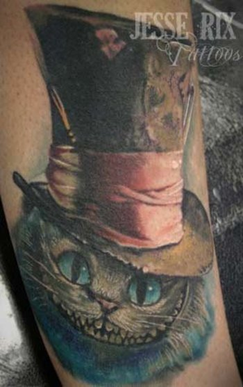 cheshire-cat-alice-in-wonderland-tattoo-l.jpg (300×477)