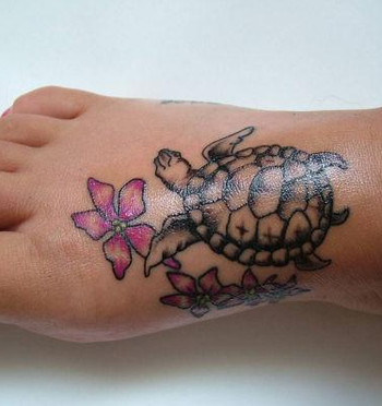 30 Jazzy Turtle Tattoos - SloDive