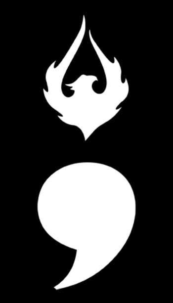 semicolon phoenix tattoo - Google Search