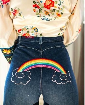 Style Comeback du Jour: Tattooed Jeans