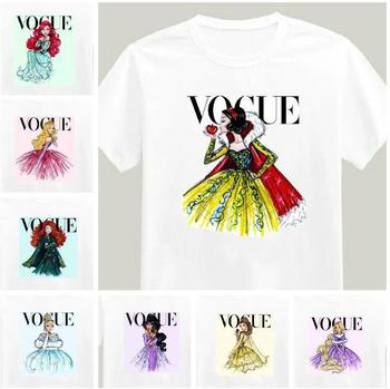 T-Shirts Picture - More Detailed Picture about tattoo vogue princess snow white Print Tshirt For Women Cotton Casual Shirt White Top Tee Big Size S XXXL Drop Ship TZ205 677 Picture in T-Shirts from TOP FASHION FRONT-LINE | Aliexpress.com | Alibaba Group