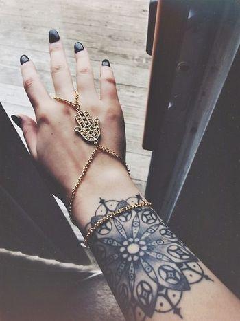 Mandala. (Tattoologist)