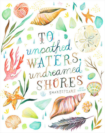 Undreamed Shores   -   vertical print