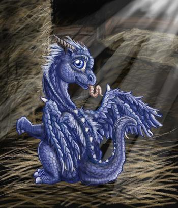 Dragon Hatchling Egg Baby Babies Cute Funny Humor Fantasy Myth Mythical Mystical Legend Dragons Wings