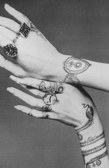 1. I need a [functional] watch ring. 2. I do NOT need another snake tattoo. Not until I get my lotus.