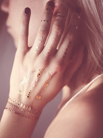 Free People Wanderlust Metallic Tattoo Pack