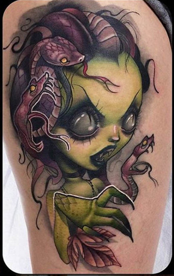 Medusa Tattoos - Inked Magazine