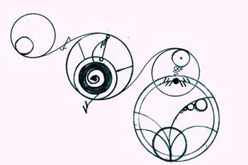 """""""I will love you forever"""" in Gallifreyan."""